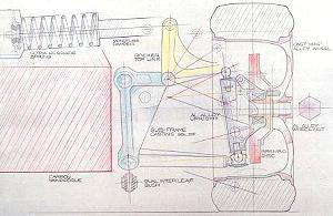 mclaren f1 resource mclaren f1 design details (1)[design sketch of mclaren f1 suspension]